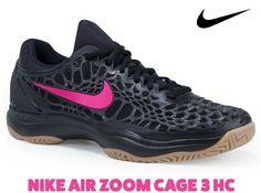 519fccd9dec1d Nike Air Zoom Cage 3 HC Mens Tennis Shoe - Black Gum Light Brown Clear Jade