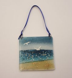Handmade glass by DesireeHopeGallery Shoulder Bag, Tote Bag, Unique Jewelry, Glass, Handmade Gifts, Silver, Gold, Etsy, Ideas
