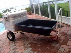make a 1,000 lbs Dock/Beach Cart for under $50