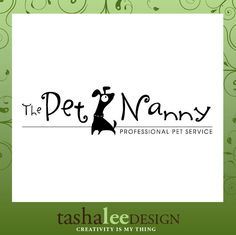 pet sitter logo // tasha lee design