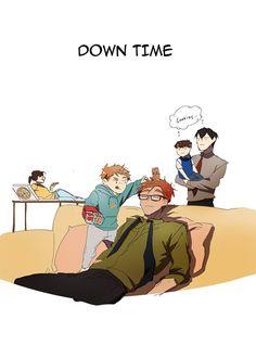 I Love Yoo Webtoon, Webtoon Comics, Short Comics, Manhwa Manga, Manga Pictures, Comic Strips, Anime Guys, Decir No, Family Guy
