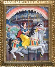 A Royal Carousel: SNOW WHITE by Maggie Parr