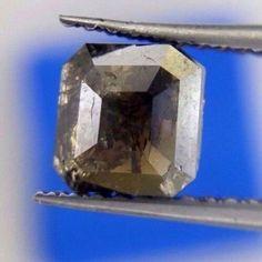 Natural Diamond Antique Kite Full Diamond  1.96TCW 9.4 x 8.1 x 3.6 MM Gray Diam Kite Diamond Real Diamond Rustic Diamond Fancy Diam for Gift