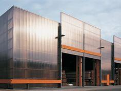 Werkhalle in Bobingen, Florian Nagler Architekten