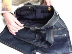 DIY Cómo hacer un bolso con tus viejos jeans http://ini.es/1sn3gUE #ComoHacerUnBolso, #DIY