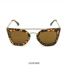 Leopard Sunnies Super cute leopard sunnies. New! Accessories Sunglasses