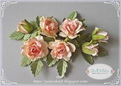 Blog sklepu Three Wishes: Wideo- kurs na foamiranowe różyczki do kartek i za...