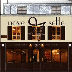 Nove Sette, 97, Rue des Dames 75017 Paris - Resto italiens carte 45-65€