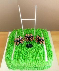 Haka Rugby Cake.  http://ardorcuisine.blogspot.co.nz/