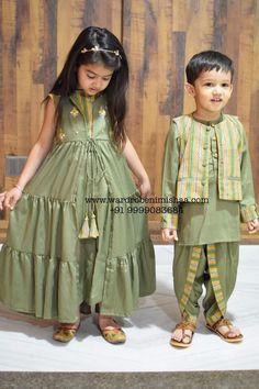 Baby Dress Design, Baby Girl Dress Patterns, Baby Girl Dresses, Girls Casual Dresses, Kids Outfits Girls, Toddler Outfits, Kids Frocks, Frocks For Girls, Mommy Daughter Dresses
