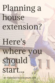 Planning a house extension or major hour renovation? Here's where you should start with planning, building regulations information. House Extension Plans, Building Extension, Bungalow Extensions, House Extensions, Bay Window Exterior, Save On Foods, Home Ownership, Ways To Save Money, Frugal