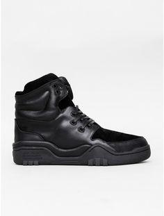 Houston Sneaker in Black Monochrome