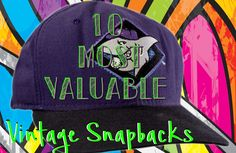 Ever wondered how much vintage snapback hats are worth? Take a look a the 10 highest sale prices on eBay. http://thriftdigital.com/10-valuable-vintage-snapback-hats-sell-ebay