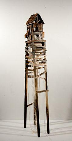 artpropelled:    Iron House by Hao Ni