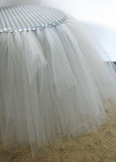 how to make toole skirt