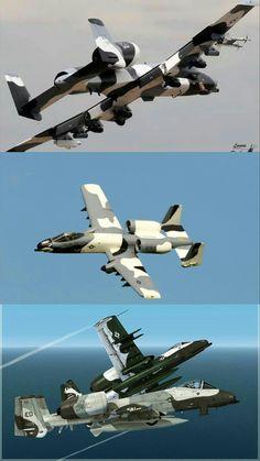 A-10 Thunderbolt II Aggressor Aircraft