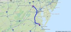 Driving Directions from 3500 Ludwell Pkwy, Williamsburg, Virginia 23188 to 16704 Powell Rd, Sharpsburg, Maryland 21782 | MapQuest