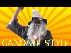 GANDALF STYLE - Parody of PSY - GANGNAM STYLE (강남스타일) M/V // la Tierra Media tiene ritmo también.