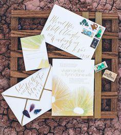 Desert wedding inspiration featured on Ruffled Blog   photography: heather rowland   styling: lindsey zamora   calligraphy: blue eye brown eye