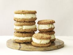 ginger ice cream  | ... ginger ice cream. Chopped crystallized ginger gives these an extra