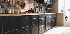 zwarte landelijke keuken - Google zoeken