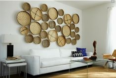 baskets for wall decor