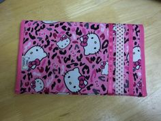 Hello Kitty Diaper & Wipes Holder by GratefulGeek on Etsy, $8.00