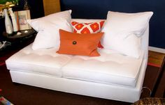 fresh orange and white