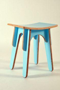 Flat pack stool