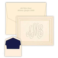 30 Best Personalized Embossed Cards