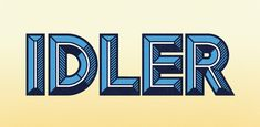 hft000 idler.pr1  HOW TO USE: IDLER TYPE FAMILY