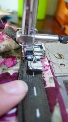 hobby naaien :: Onderwerp bekijken - Blinde rits inzetten