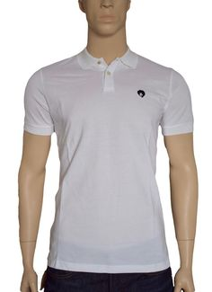 Pretty Green Retro Jimi Hendrix White Cotton Polo Shirt Medium BNWT #PrettyGreen #PoloShirts