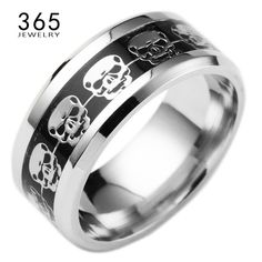 Mens Jewelry Never Fade Stainless Steel Skull Ring $9.99  Mens Jewelry Never Fade Stainless Steel Skull Ring, Mens Jewelry Never Fade Stainless Steel Skull Ring Gold Filled Blue Black Skeleton Pattern Man Biker Rings for Men Gift  Item Type: RingsFine or Fashion: FashionSurface Width: 8mmMetals Type: Stainless SteelShape\pattern: SkeletonRings Type: Bridal SetsGender: MenStyle: TrendySetting Type: Bar SettingMaterial: MetalOccasion: PartyModel Number: R50Name: anillosFeature: Skull…