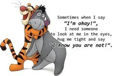 """' said Pooh. 'What do you say, Piglet?' 'I say, I wonder what's going to happen exciting today?' said Piglet."""" —Winnie-the-Pooh Eeyore Quotes, Winnie The Pooh Quotes, Winnie The Pooh Friends, Disney Winnie The Pooh, Great Quotes, Funny Quotes, Inspirational Quotes, Im Okay Quotes, Random Quotes"""