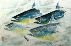 Image result for fish prints