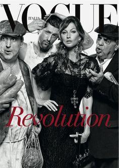 Italian Vogue, via Dolce & Gabbana tumblr