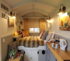 Hire a Shepherds Hut Bedroom, ideal as a spare room to hire for family and guests, or as a courtesy bedroom. It can also be set up for events or holidays. This beautiful Shepherds hut is road towable and fitted with a double bed and stove. Living Room Sets, Bedroom Sets, Girls Bedroom, Bedrooms, Master Bedroom, Shepherds Hut For Sale, Wooden Hut, Spare Room, Color Palettes