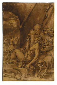Invidia (1590; Hannover, Niedersächsisches Landesmuseum)