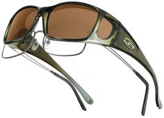 Razor Olive Charcoal Fitovers by Jonathan Paul - high quality TR90 hand-painted frames and durable polycarbonate lenses.