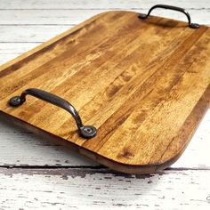 Goodwill Blogging: From Cutting Board to Trendy Tray