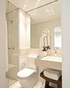 6 Unbelievable Tips: Half Bathroom Remodel Counter Tops bathroom remodel 2018 trends.Mobile Home Bathroom Remodel Projects easy bathroom remodel kitchen counters.Guest Bathroom Remodel Before And After. Tiny House Bathroom, Bathroom Spa, Bathroom Design Small, Bathroom Layout, Bathroom Interior Design, Modern Bathroom, Bathroom Ideas, Bath Design, Bathroom Remodeling