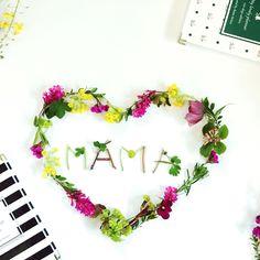Geschenk zum Muttertag :) My lovely planner