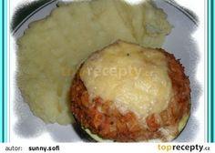 Cukety s plnými bříšky zapékané recept - TopRecepty.cz Baked Potato, Camembert Cheese, Mashed Potatoes, Grains, Dairy, Rice, Baking, Ethnic Recipes, Food
