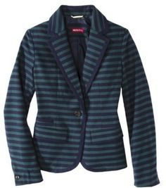 Snagged this recently. How would you style it?   Merona® Women's Oxford Blazer - Assorted Prints on shopstyle.com