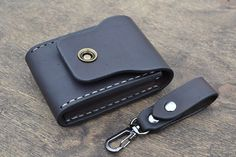 Leather Wallet-Men Wallet-Leather Card Holder by sergklim on Etsy