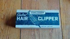 Vintage Craftsman electric hair clipper model 9270 by Groovinonup, $25.00