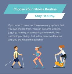 Stay Healthy By Choosing Your Fitness Routine. Visit www.sunshinehomehealthaide.com now. #FitnessTips #FitnessIsLife #healthy