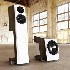 High End Speakers, Tower Speakers, Best Speakers, Diy Speakers, Speaker Stands, High End Audio, Speaker Box Design, Audio Design, Home Cinemas