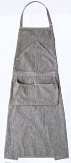 shigotogihiroba | Rakuten Global Market: All apron RT6869-1 one color (kitchen cooking white robe service uniform seven uniform)